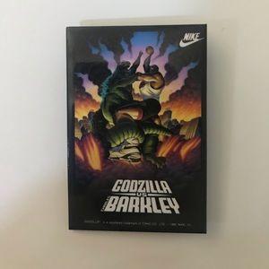 Vtg 1992 Barkley Godzilla Tokyo Clash Pin 3x2.